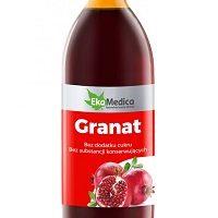 Sok z Granatu 0,5 l - odmładza i wspomaga walkę z rakiem !
