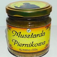 Musztarda Piernikowa - Dla miłośników kuchni Staropolskiej